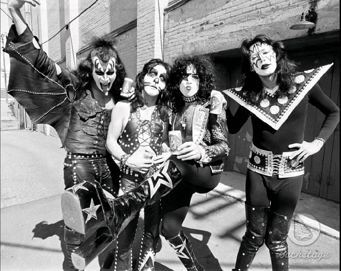 KISS ~Creem Foto shoot 1974