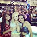 Kat Graham and TVD cast - katerina-graham photo