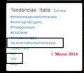 'We Want Katherine Pierce Back' trending Worldwide   Italy.—March 7, 2014 - katherine-pierce photo