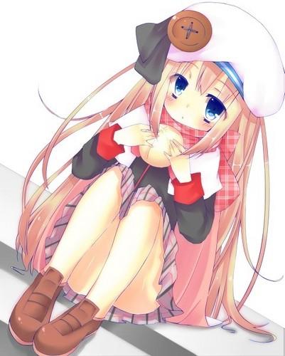 Kawaii Anime wallpaper entitled miku chan~
