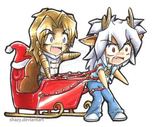 chibi bakura and marik kawaii♥