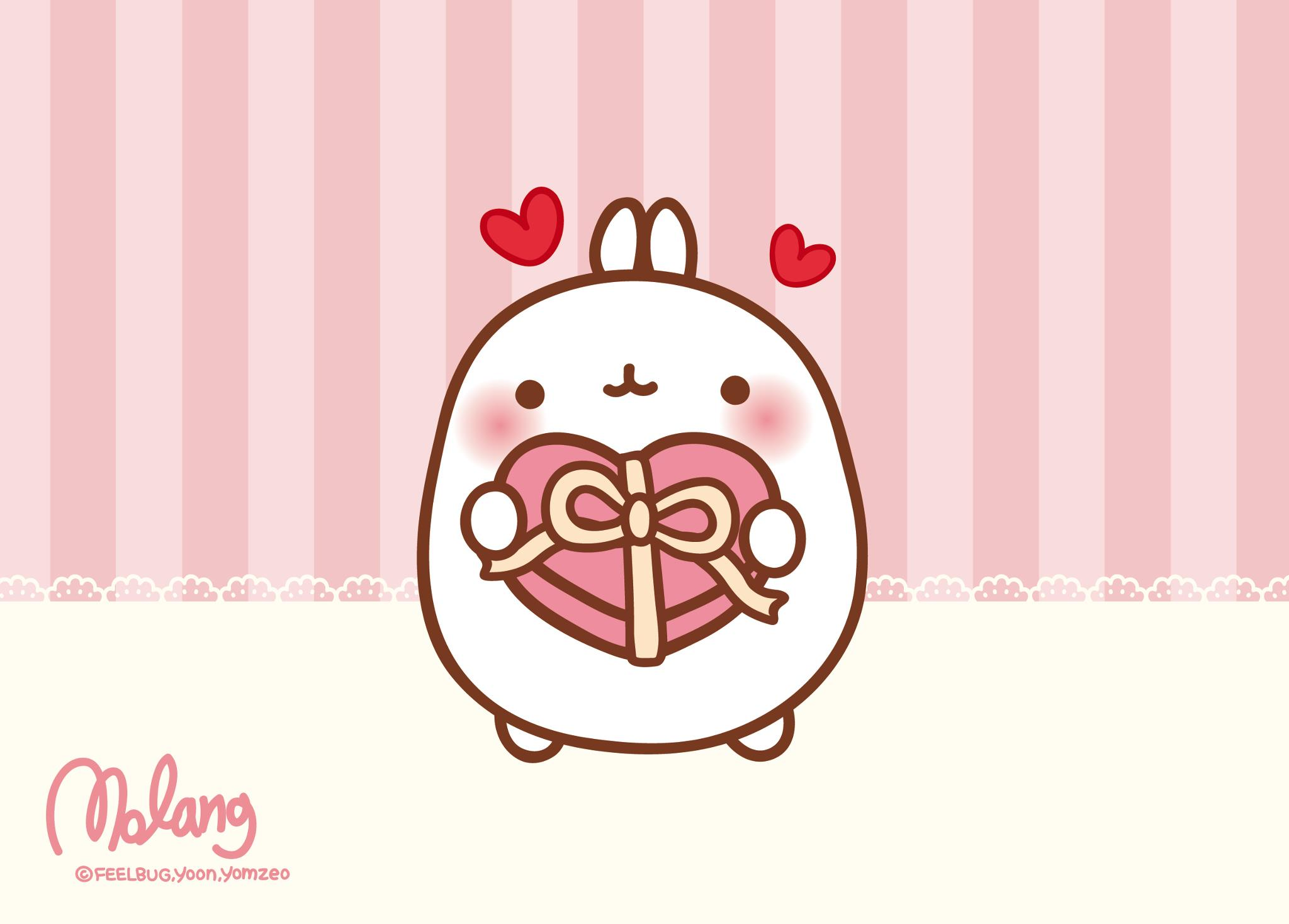 Kawaii World Images Molang Hd Wallpaper And Background Photos 36793286