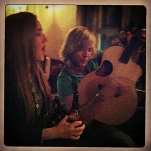 Traditional Irish session with Becca. Throwback.