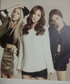 Girls' Generation 2014 calendar
