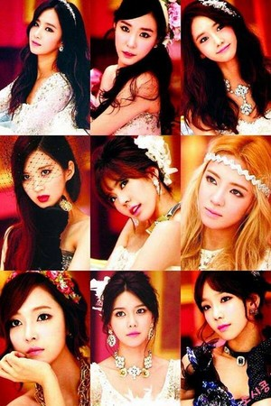 Snsd - Mr.Mr Postcards