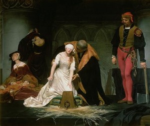 The Execution of Lady Jane Grey - Paul Delaroche