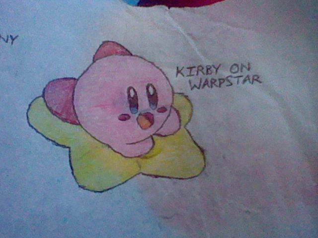 Kirby on Warpstar