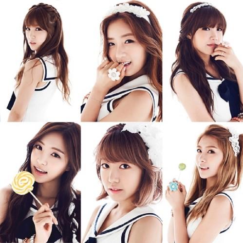 Korea Girls Group A Pink wallpaper with a portrait entitled ♥Apink Nonono♥