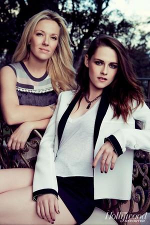 Kristen and Tara Swennen for THR