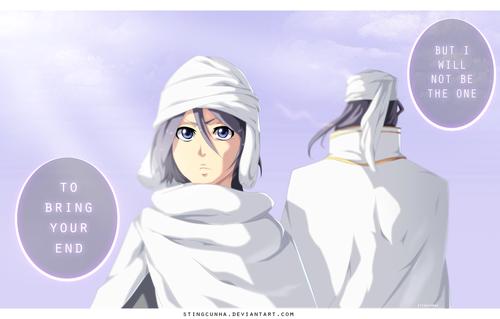 Kuchiki Byakuya Hintergrund called *Rukia / Byakuya*