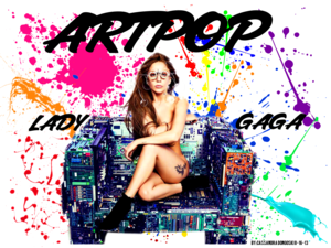 Lady Gaga ARTPOP Version 1