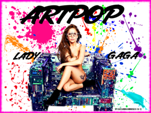 Lady Gaga ARTPOP version 3