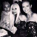 Lady GaGa With Celebrities - lady-gaga photo