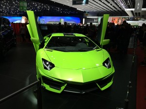 Lamborghini at the Autosaloon in Geneve