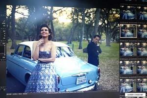 Lauren Cohan Photoshoot 2014 Behind the Scenes