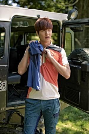 Lee Min Ho for 'Eider'