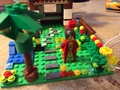 My LEGO Ellenor and her garden - lego photo