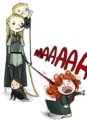 Legolas: The nanny