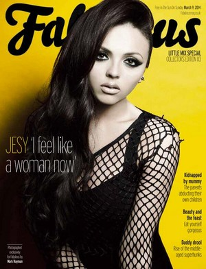 Jesy for Fabulous Magazine
