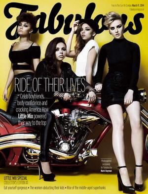 Little Mix for Fabulous Magazine