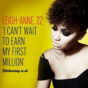 Leigh - Anne Fabulous Magazine ❤