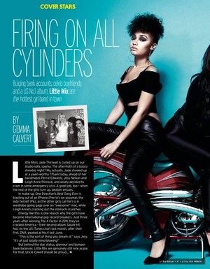Little Mix Fabulous Magazine ❤