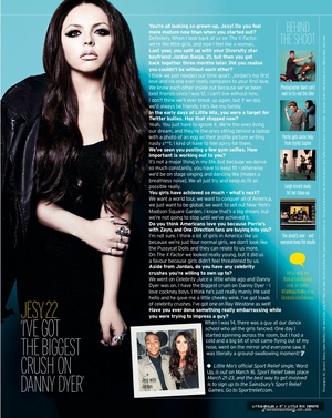 Jesy's Fabulous Magazine Interview