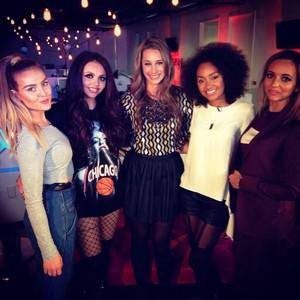 Little Mix today MTV Live