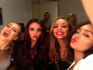 New Little Mix selfie today :D