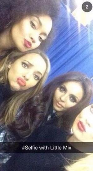 Little Mix selfie :)