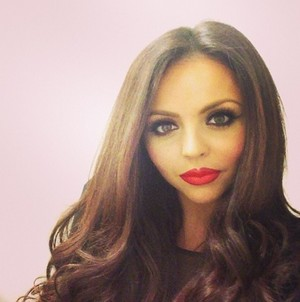 Jesy last night before the show
