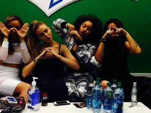 The girls yesterday!! :D
