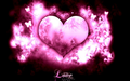 Pink Love Heart - love photo