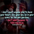 I don't want anyone else... - love photo