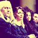 Lucius, Narcissa and Bella - lucius-malfoy icon