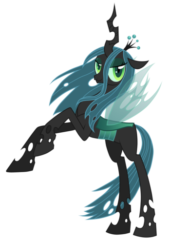 MLP FIM Queen Chrysalis fond d'écran called Queen Chrystalis