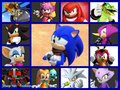 Main Sonic Cast - sonic-the-hedgehog fan art