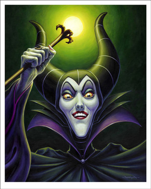 Maleficent por Jason Edmiston