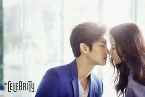 Changmin and Moon Gayoung for 'The Celebrity'