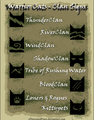 Clans Warrior Cats