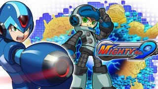 Megaman achtergrond with anime called Megaman X Mighty No. 9