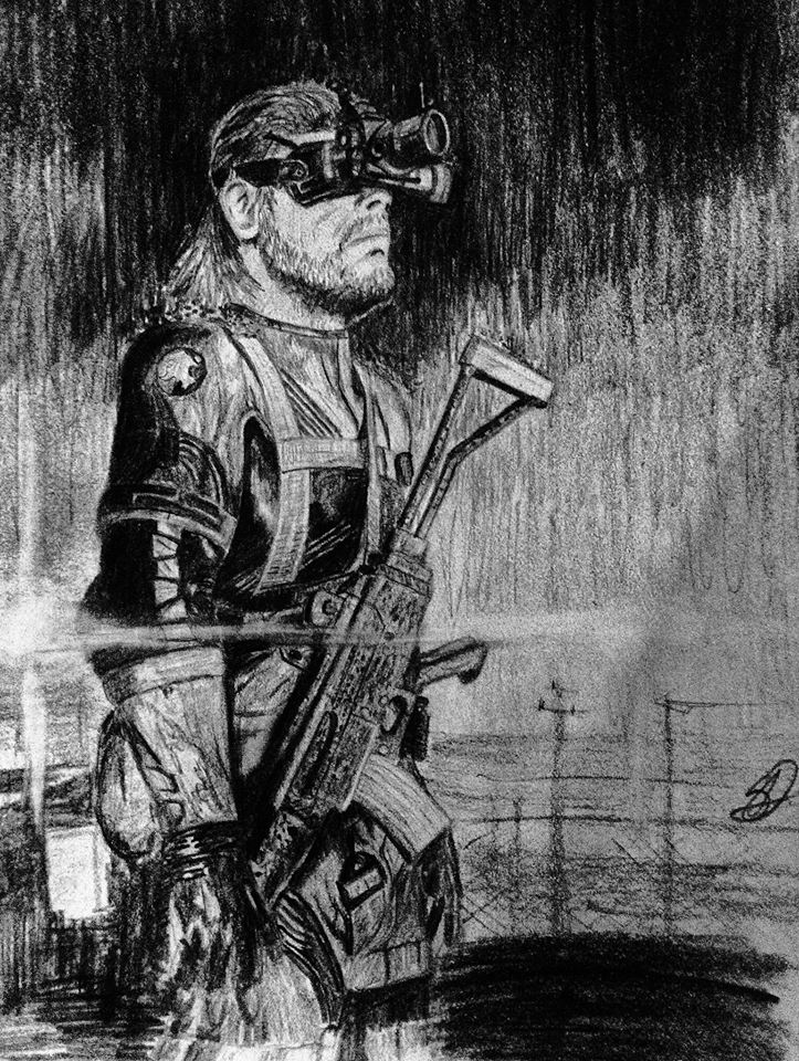 Naked Snake Metal Gear Solid Fan Art 36742317 Fanpop