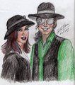 Sweethearts - michael-jackson-and-lisa-marie fan art