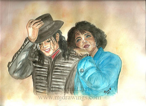 Michael And Journalist, Oprah Winfrey