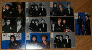An Assortment Of Photographs Pertaining To Michael Jackson