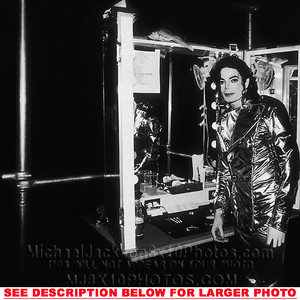 Backstage During The History Tour