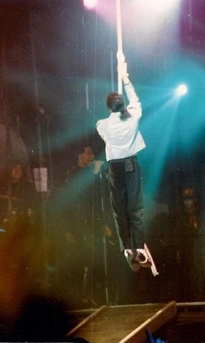 Baby's flying like Peter Pan