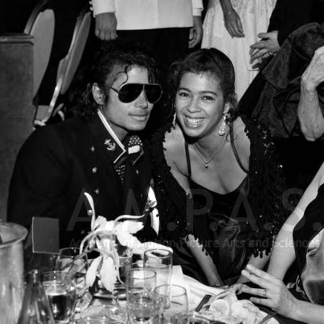 Michael Jackson wallpaper possibly containing sunglasses, a tamale, and a green beret called Michael And Irene Cara