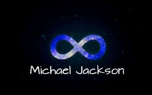 Michael Jackson karatasi la kupamba ukuta entitled Michael Jackson Infinity
