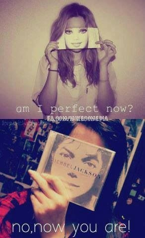 Now you're perfect